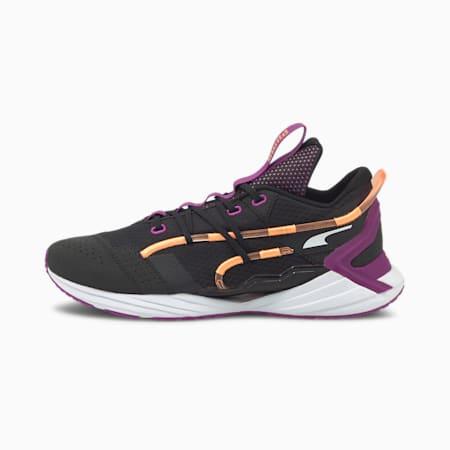 ULTRA Triller Men's Running Shoes, Puma Black-Byzantium, small-IND