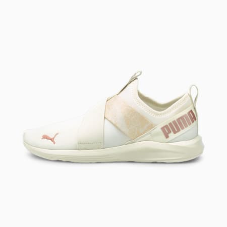 Prowl Slip-On Animal Women's Training Shoes, Marshmallow-Rose Gold, small-IND