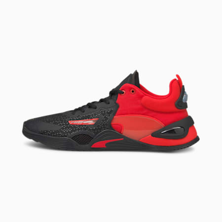 FUSE Herren Trainingsschuhe, Poppy Red-Puma Black, small