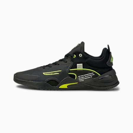 PUMA x FIRST MILE FUSE Men's Training Shoes, Puma Black-Yellow Alert, small-GBR