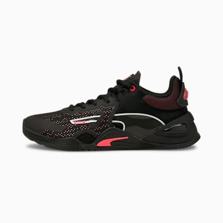 FUSE Women's Training Shoes, Puma Black-Ignite Pink, small