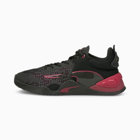 FUSE Women's Training Shoes, Puma Black-Persian Red, small-IND