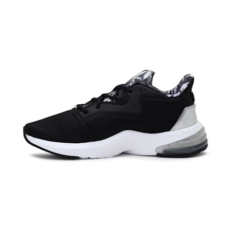 LVL-UP XT Untamed Floral Women's Training Shoes, Puma Black-Puma White, small-IND