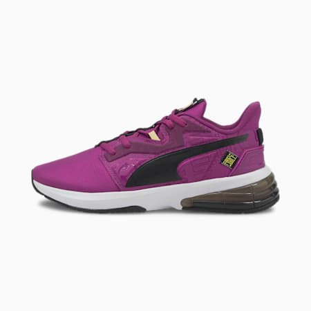 PUMA x FIRST MILE LVL-UP Women's Training Shoes, Byzantium-Puma Black-, small-IND
