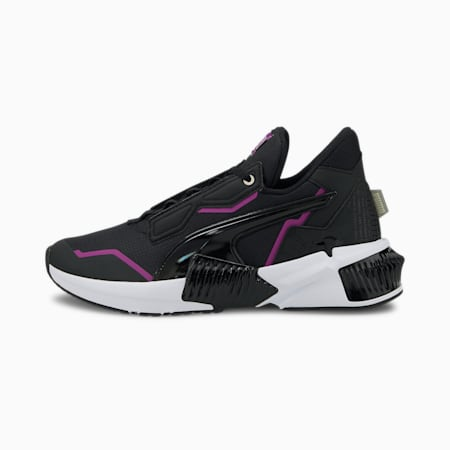 PUMA x FIRST MILE Provoke XT Women's Training Shoes, Puma Black-Byzantium, small-GBR
