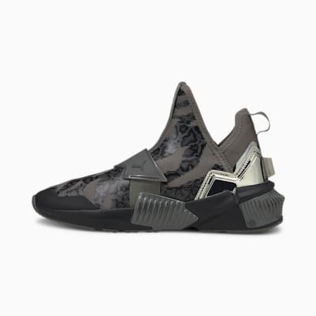 Provoke XT Mid Untamed Women's Training Shoes, Black-Silver-CASTLEROCK, small
