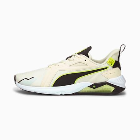 PUMA x FIRST MILE LQDCELL Method sportschoenen heren, Eggnog-Yellow Alert-Black, small