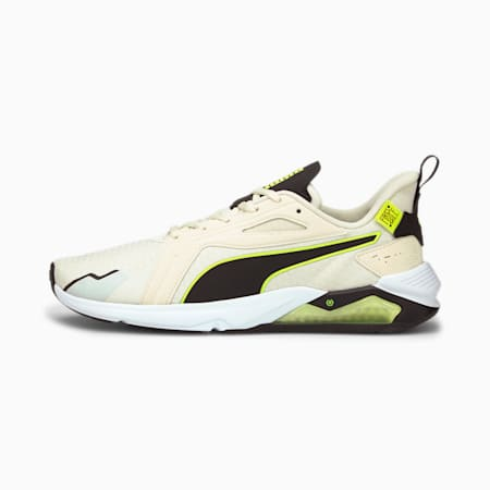 PUMA x FIRST MILE LQDCELL Method Men's Training Shoes, Eggnog-Yellow Alert-Black, small-IND