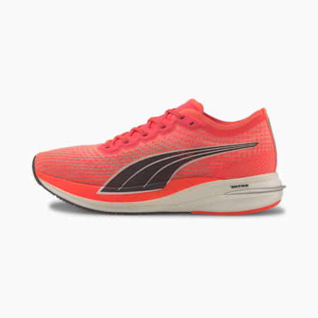Deviate NITRO Men's Running Shoes, Lava Blast-Puma Black, small-GBR