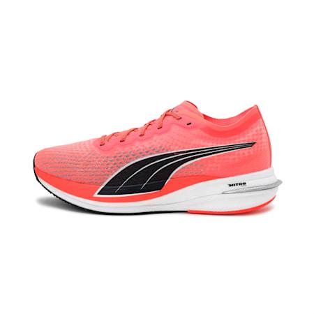 Deviate Nitro Men's Running Shoes, Lava Blast-Puma Black, small-IND