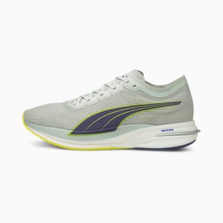 Chaussures de sportDeviate NITRO, homme, Gris violet-alertejaune, petit