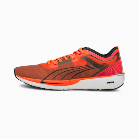 Liberate NITRO Women's Running Shoes, Lava Blast-Puma Black, small-GBR