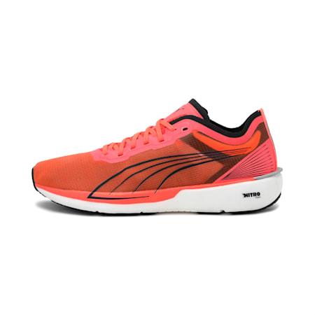 Liberate Nitro Women's Running Shoes, Lava Blast-Puma Black, small-IND