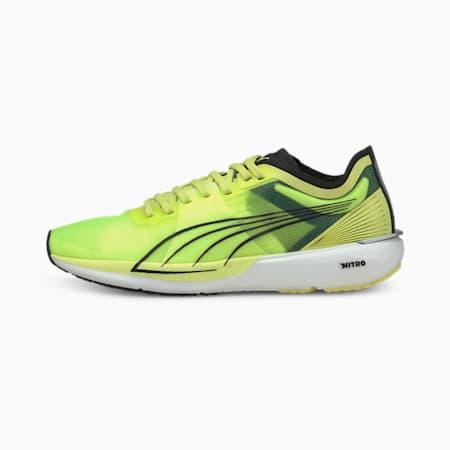 Zapatos para correr Liberate NITRO para mujer, SOFT FLUO YELLOW-Puma Black, pequeño
