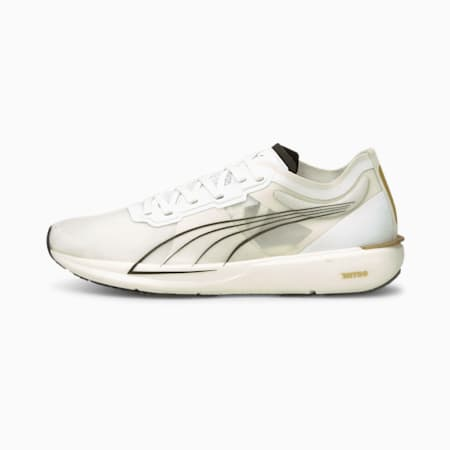 Chaussures de course Liberate Nitro femme, Puma White-Puma Team Gold, small