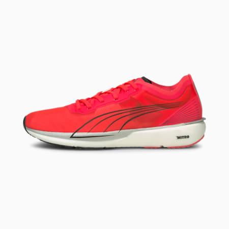 Liberate Nitro Women's Running Shoes, Sunblaze-Puma White, small-IND