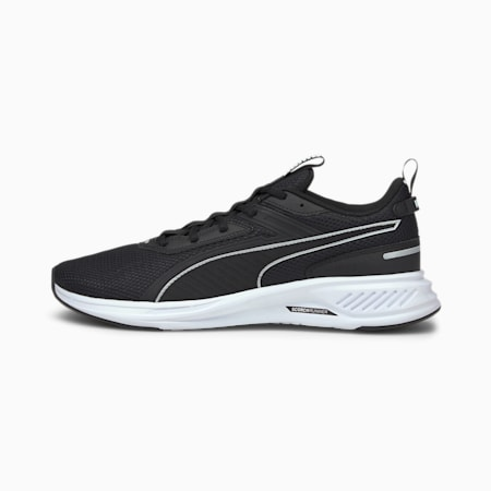 Scorch Runner Running Shoes, Puma Black-Puma White, small