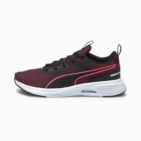 Scorch Runner Running Shoes, Puma Black-Ignite Pink, small