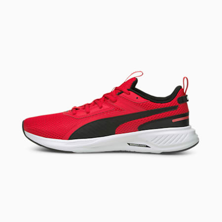 Scorch Runner Running Shoes, High Risk Red-Puma Black, small