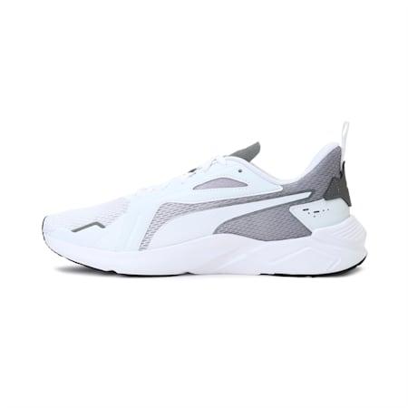 PUMA x one8 Virat Kohli LQDCELL Method Running Shoes, Puma Wht-Ultra Gry-Pma Blk, small-IND