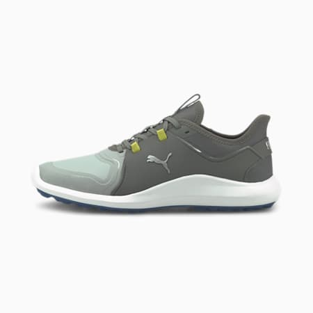 Zapatos de golf IGNITE FASTEN8 Pro para hombre, High Rise-Silver-QUIET SHADE, small