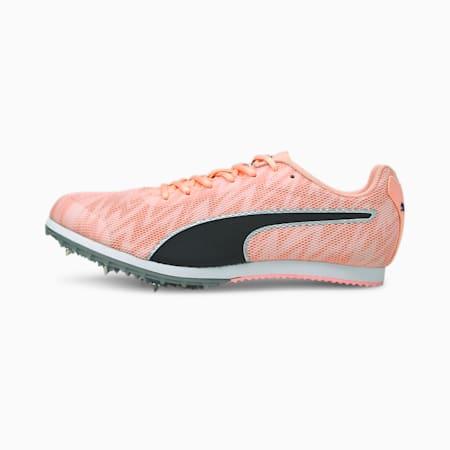 Chaussures d'athlétisme à pointes evoSPEED Star 7, Elektro Peach-Black-Silver, small