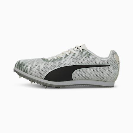 Zapatillas juveniles con clavos para pista y campo evoSPEED Star 7, Puma White-Puma Black-Puma Silver, small