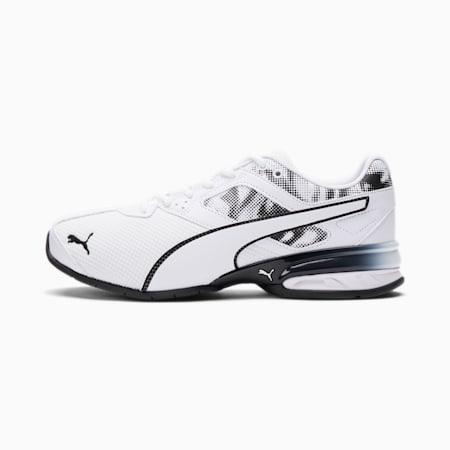 Tazon 6 Cyclone Men's Sneakers, Puma White-Puma Black, small