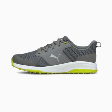 Grip Fusion Sport 3.0 golfschoenen heren, QUIET SHADE-Puma Silver-Limepunch, small
