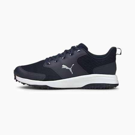 Grip Fusion Sport 3.0 Men's Golf Shoes, Navy Blazer-Puma Silver, small-GBR