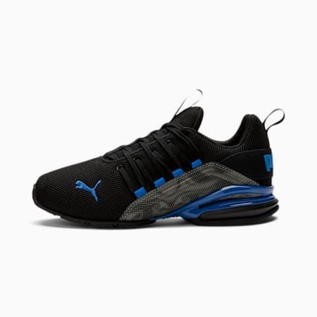 Axelion Cyclone Sneakers JR, Puma Black-Lapis Blue, small