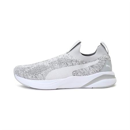 PUMA X one8 Virat Kohli SOFTRIDE Rift Slip-On Walking Shoes, Gray Violet-Puma White, small-IND