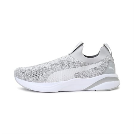 Softride Rift one8 Unisex Slip-On Running Shoes, Gray Violet-Puma White, small-IND