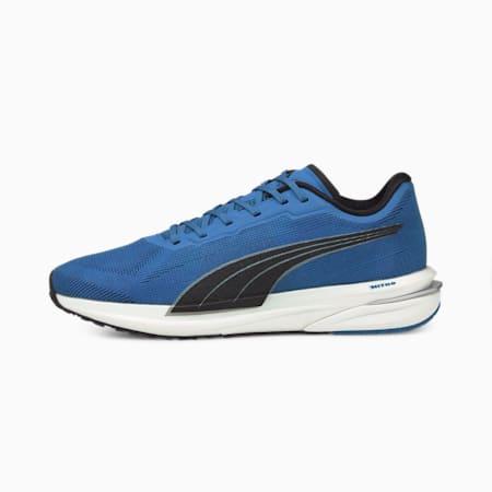 Velocity Nitro Men's Running Shoes, Star Sapphire-Black-Silver, small
