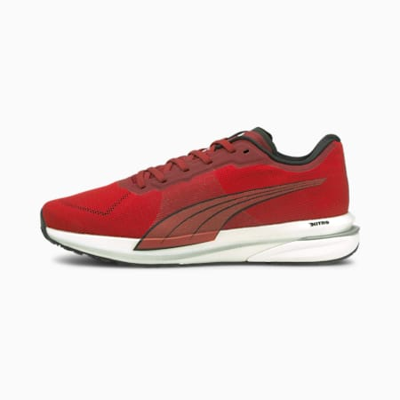 Velocity Nitro Men's Running Shoes, Intense Red-High Risk Red, small-IND