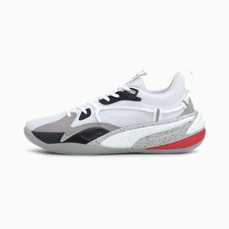 RS-Dreamer Concrete Jungle Basketballschuhe, Puma White-Puma Black, small