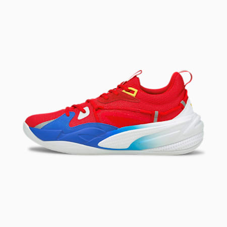 RS-Dreamer Super Mario 64™ Basketball Shoes, Flame Scarlet-Electric Blue, small-IND