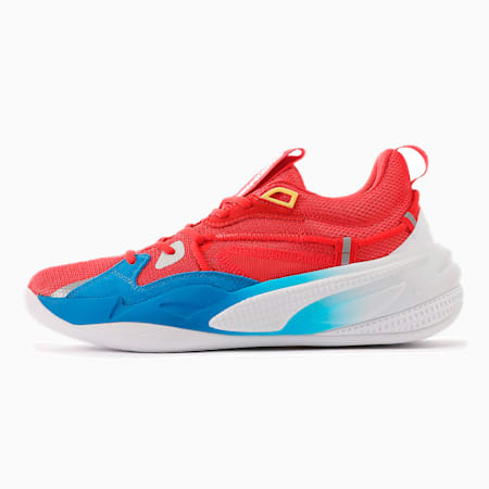 PUMA x SUPER MARIO RS-DREAMER スーパー マリオ 64 バスケットボール シューズ, Flame Scarlet-Electric Blue, small-JPN