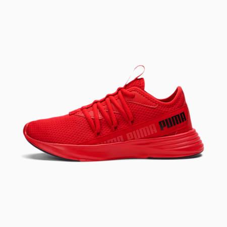 Star Vital Radiate Boys' Training Shoes JR, High Risk Red-Puma Black, small