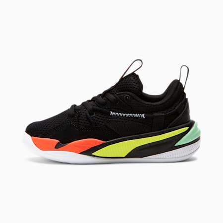 Zapatos RS-DREAMER para niño pequeño, Black-White-Limepunch, pequeño