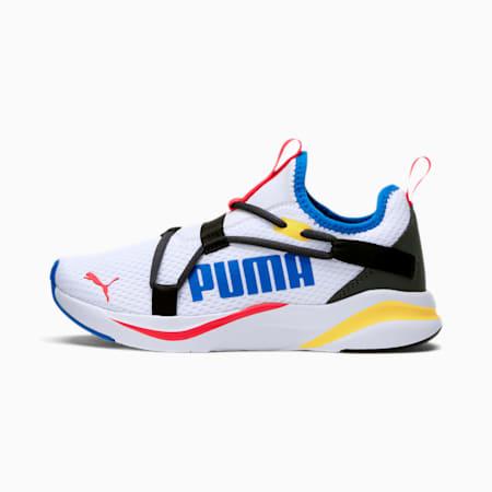 SOFTRIDE Rift Slip-On Running Shoes JR, Puma White-Puma Black, small
