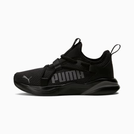 Zapatos para corrersin cordonesSOFTRIDE RiftJR, Puma Black-CASTLEROCK, pequeño