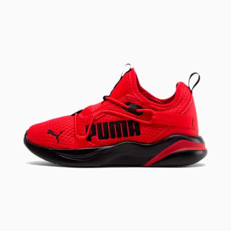 Rift Little Kids' Slip-On Shoes, High Risk Red-Puma Black, small