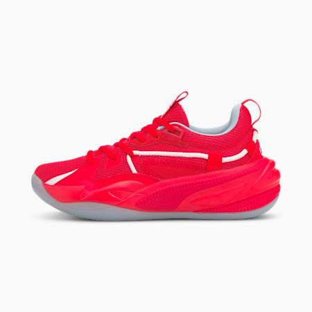 RS-Dreamer Blood, Sweat and Tears Youth Basketball Trainers, Fiery Red-Ribbon Red, small