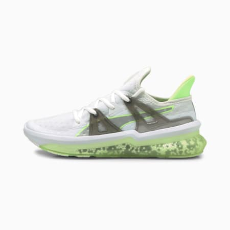 Jamming 2.0 Men's Running Shoes, Puma White-Green Glare, small-IND