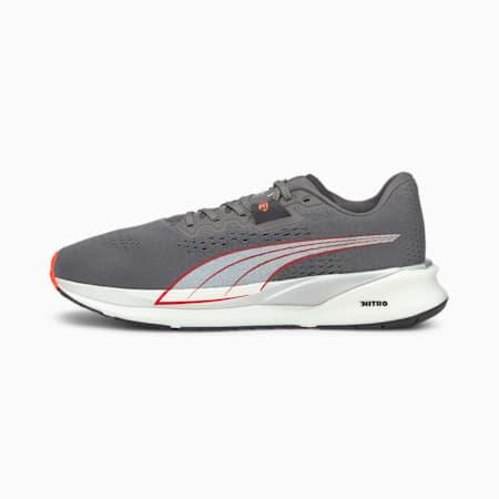 Eternity Nitro Men's Running Shoes, CASTLEROCK-White-Lava Blast, small