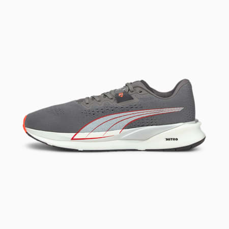 Eternity Nitro Men's Running Shoes, CASTLEROCK-White-Lava Blast, small-GBR