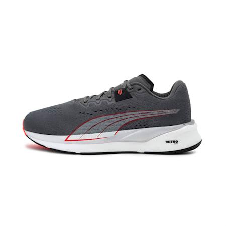 Eternity Nitro Men's Running Shoes, CASTLEROCK-White-Lava Blast, small-IND
