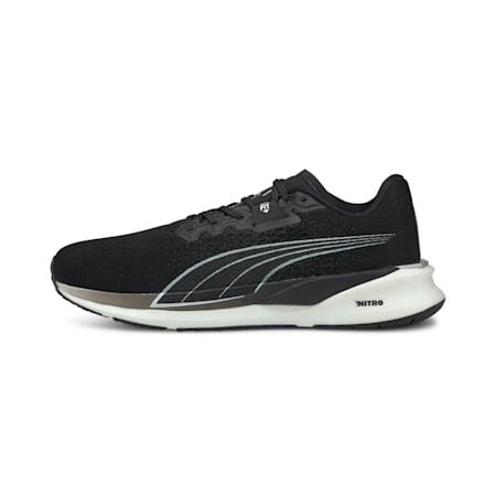 Eternity Nitro Men's Running Shoes, Puma Black-Puma White, small-IND