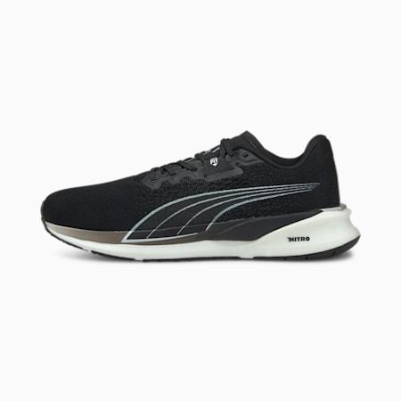 Eternity Nitro Men's Running Shoes, Puma Black-Puma White, small-SEA